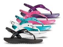 Fitness sandale sa kristalima