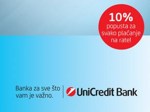 Posebna pogodnost Unicredit banke