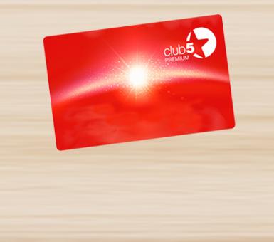 Uživajte u posebnim pogodnostima Cluba5*!