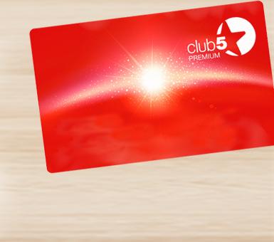 Club5* pruža više!
